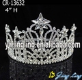Rhinestone star Patriotic pageant crowns