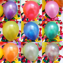 2014 china wholesale metalic latex balloon for party