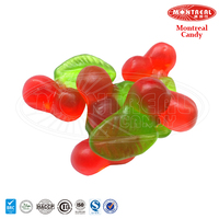 Cherry cartoon gummy jelly candy