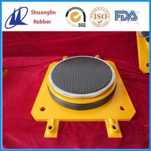 Chinese seismic isolator pot type bridge bearing