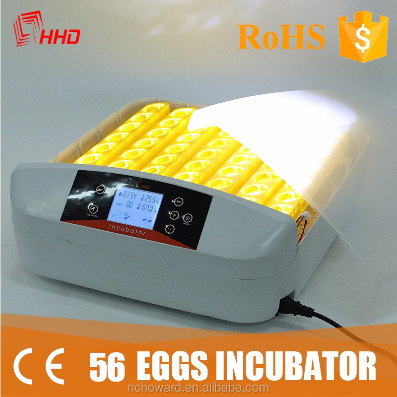 Mini 56 automatic poulty egg incubator for sale in malaysia and chicken hatchery machine price cheap