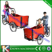CE approved European 3 Wheel denish/ family Electric Cargo Bikes for children