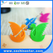2012 the new item lovely plastic bird clips