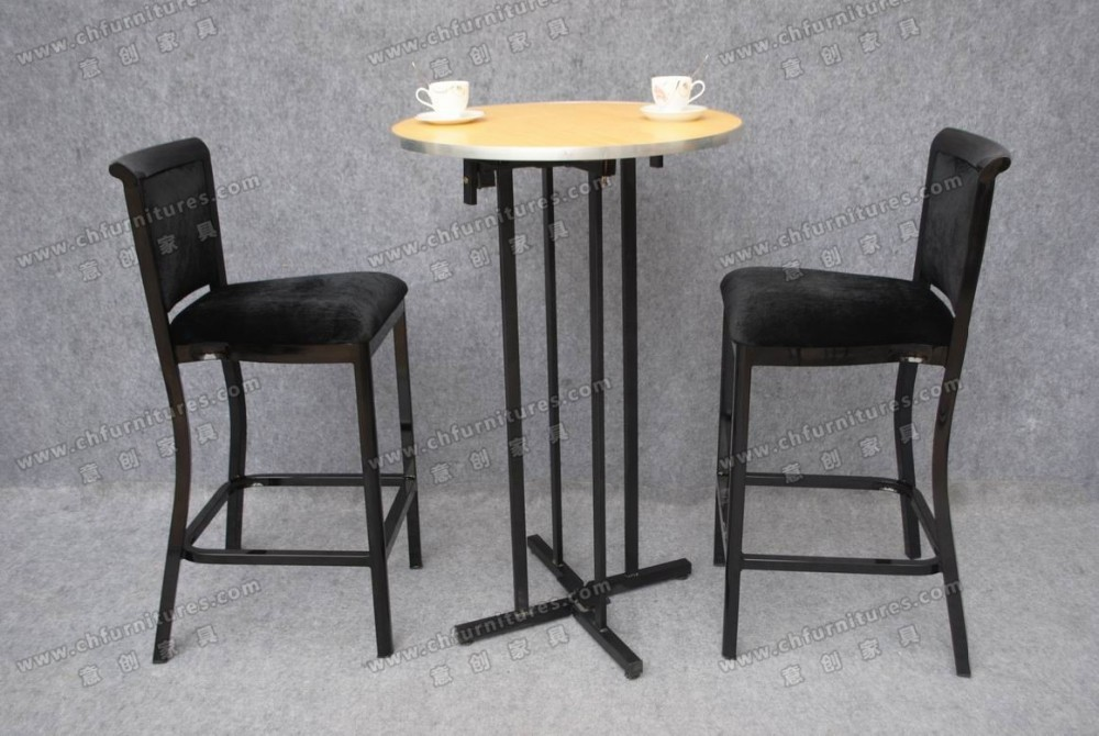 wholesale high top melamine folding cocktail table for party ycx t30 buy cocktail table high. Black Bedroom Furniture Sets. Home Design Ideas