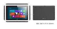 Hot Sell Mini PC Windows 8 Quad core 10.1 inch 1GB+16GB Bluetooth Tablet PC
