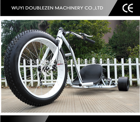 2016 High quality cooling motorized 196cc drift trike with dry clutch for sale