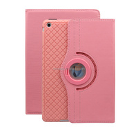360 Degree Rotation Pu Leather Smart Case for Ipad Air New Business Stand Case