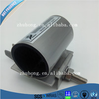 SS-H investment casting straight pipe clamp /metal Manufacture PRECISION CASTING equal female repair clamp