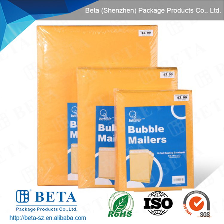 Self-seal Kraft Paper Padded Envelope