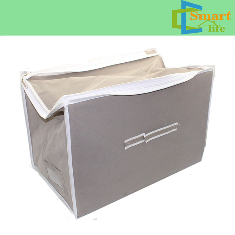 cube vacuum sealed storage tote bag with canvas box