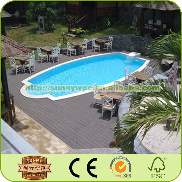 New product WPC Decking WPC boardwalk Decking WPC composite decking