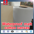 Wide Format Waterproof Waxed ploycotton Canvas Fabric