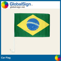 Shanghai GlobalSign promotional flag, car mirror flag, car flag