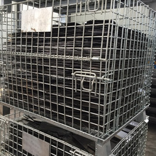 supplier wire mesh container /steel box pallets