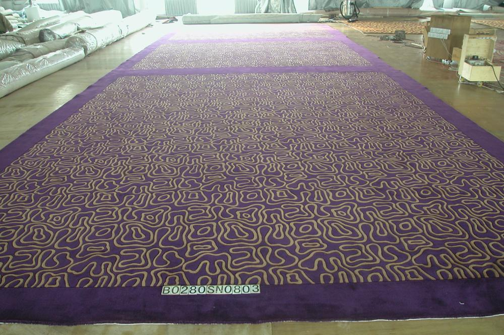 Fshionable patterns long performance life carpet of handmade