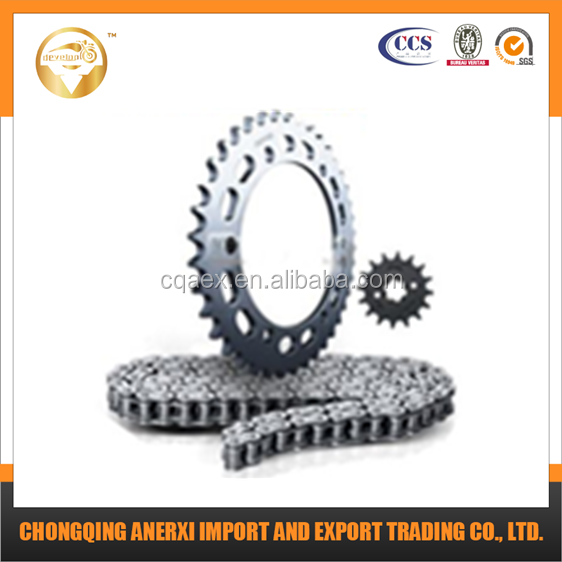 Top Quality and Best Price Chain Sprocket Kit 428H-108L 35Z-15Z for Motorcycle Spare Parts