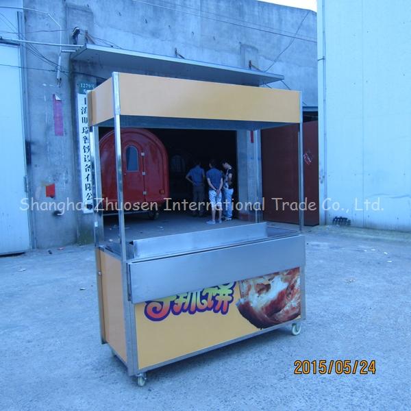 2015 Stainless steel outdoor food churros kiosk cart malaysia ...