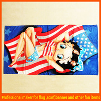 Funny promotional beach towel manufacturer