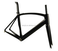 2015 Dengfu new carbon road bile frame, aero carbon road bicycle frame FM098, 49/52/54/56/58/61cm, BB30/BSA, OEM