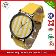 R0718 new trendy leather girl watch best luxury watches for women 2012