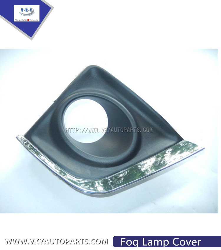 Auto Spare Parts Car Chrome Fog Lamp Cover For Corolla 2014