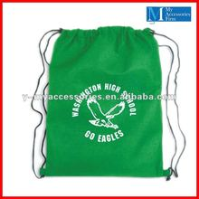 2012 cheap drawstring backpacks with printing