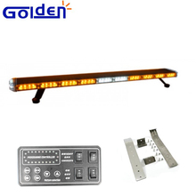 Factory price led car roof side rack mount emergency light bar for wholesales