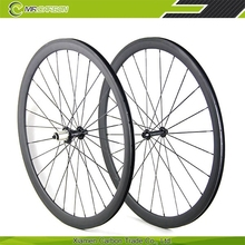2015 newest 38mm carbon tubular bicycle parts wheel rims for road bike