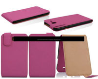 PU Leather Flip Case Cover with vertical Stand for iPhone 6, iPhone 5 and iPhone 4 and for Samsung S5 and Note 3