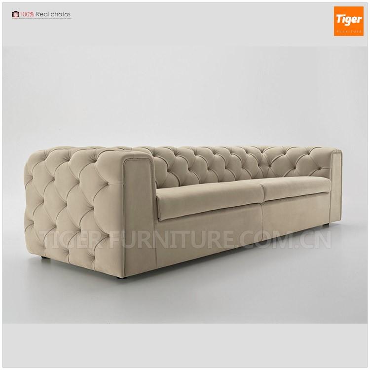2016 Latest Modern Design Living Room Fabric Chesterfield ...