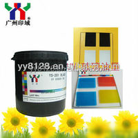 uv silk screen printing ink for glass and metal -Top selling