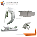 Motorcycle Front Bumper Guard Engine Guard with Wind motorcycle front fairing fairing abs plastic for honda cbr600rr 08-11