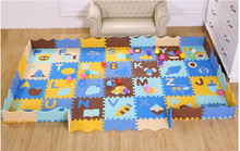 Customize eva play puzzle mat with alphabet letter made in China