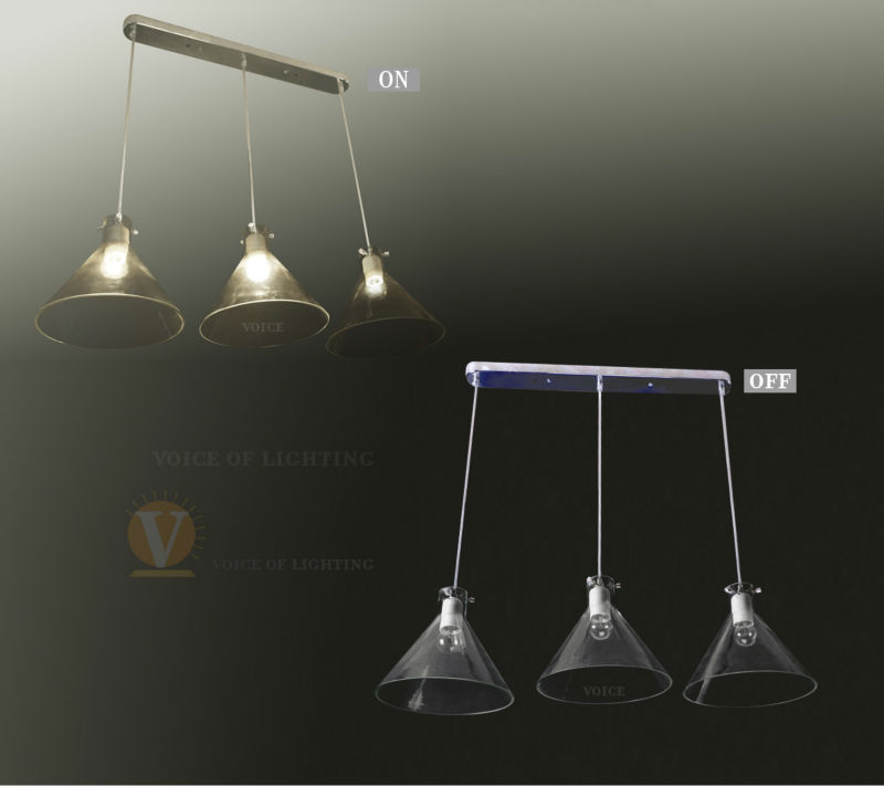 2013 bien vendu moderne aluminum suspension light for Lampe suspension pas cher