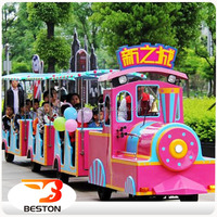 Popular amusement park amusement backyard train
