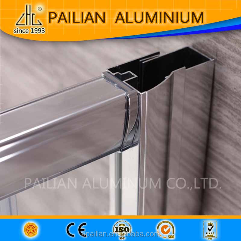 Malaysia aluminum profile for shower enclosure/shower room/shower cabin,hinged aluminium shower enclosure door alu accessories