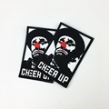 wholesale embroidered iron on custom embroidered patches clothing patch