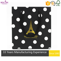 Alibaba New Design Cheap Popular Rectangle Gift Craft Paper Shopping Bag With Logo