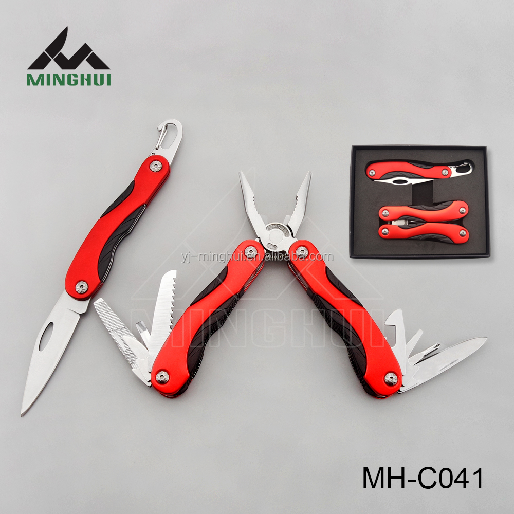 2015 new outdoor knife and plier set