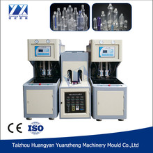 Low cost plastic bottle blow molding machine for small plant