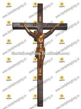 wood crucifix, catholic jesus cross, popular wall cross