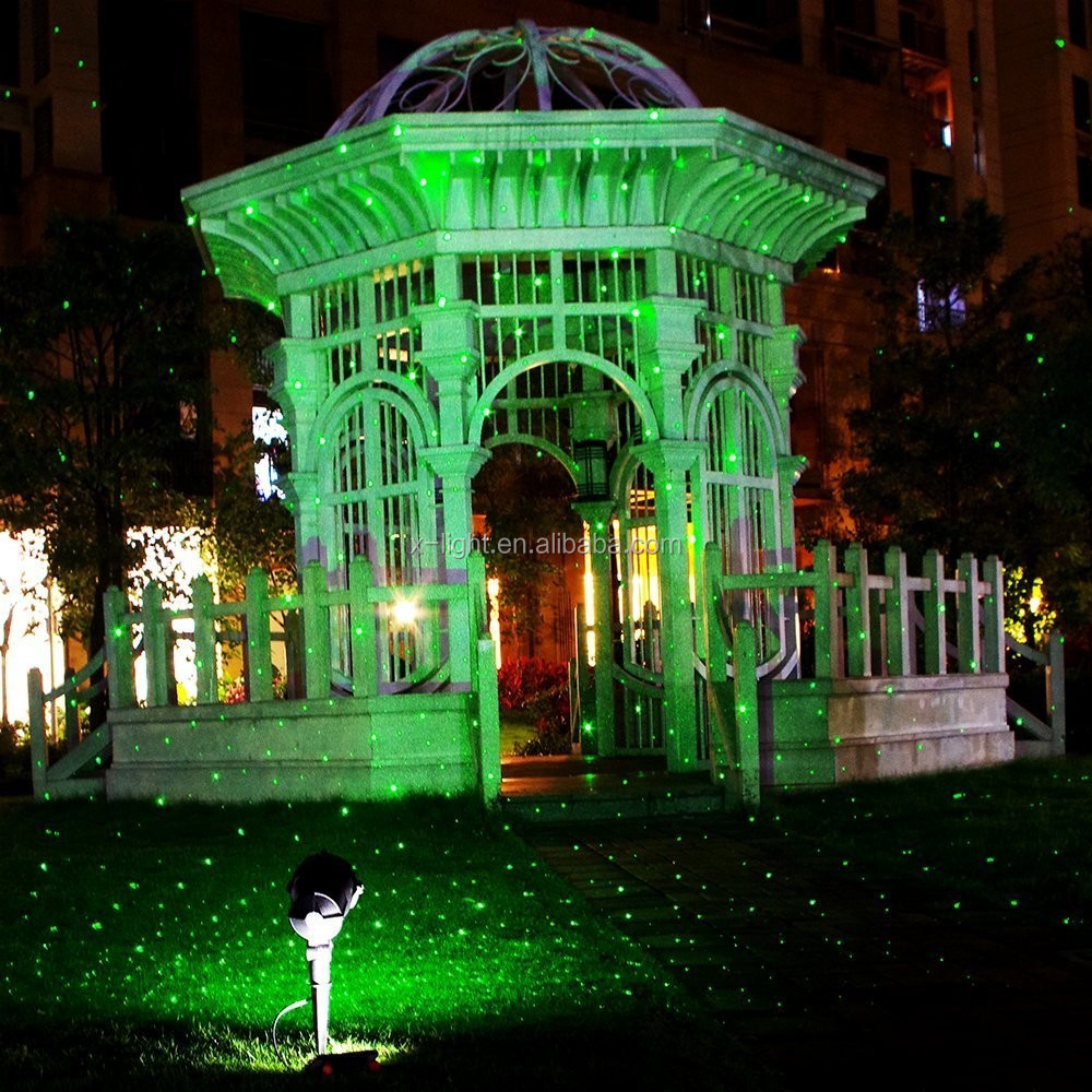 Star show outdoor christmas laser light