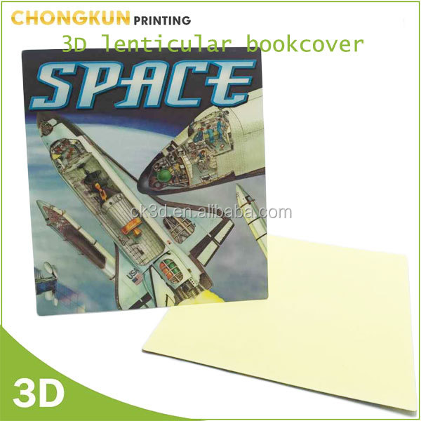 Pp Book Cover Material : Fancy d lenticular pp book cover with cartoon design