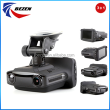 2017 3 in 1 Radar Speed Detector GPS Car DVR Recorder Radar Laser Fixed Speed And Flow Speed Testing Detector