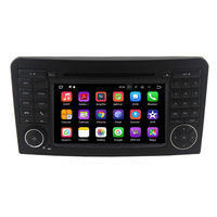 IPS Android 8.0 4G Octa CORE CAR DVD player For Benz GL ML CLASS W164 ML350 ML500 X164 GL320 GPS stereo radio