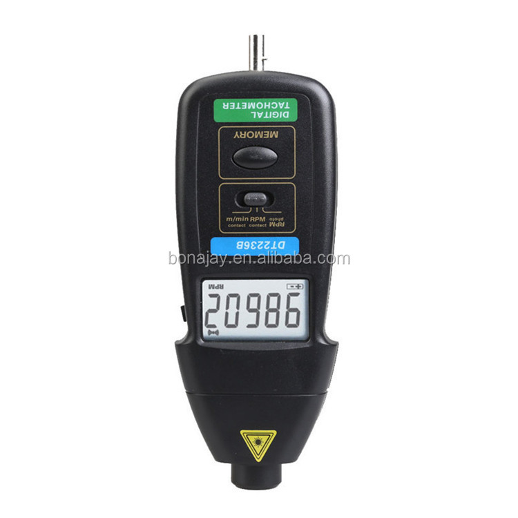 High quality portable LCD display digital speedometer tachometer