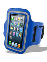 Sports Running Jogging Armband for iPhone-Blue