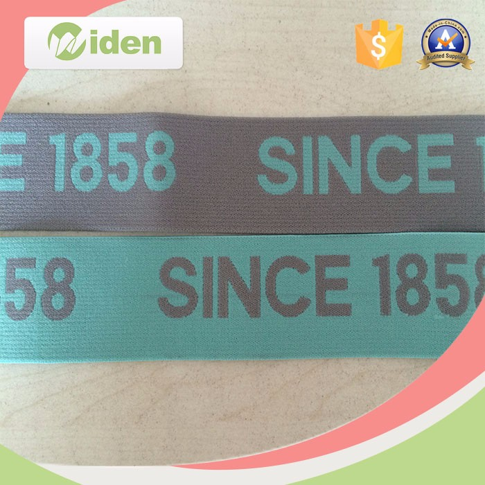 Customized Stretch Webbing Tape Jacquard Elastic Webbing
