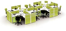 best selling custom made soundproof office partition modular modern office cubicles