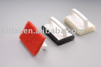 Handle scrubber